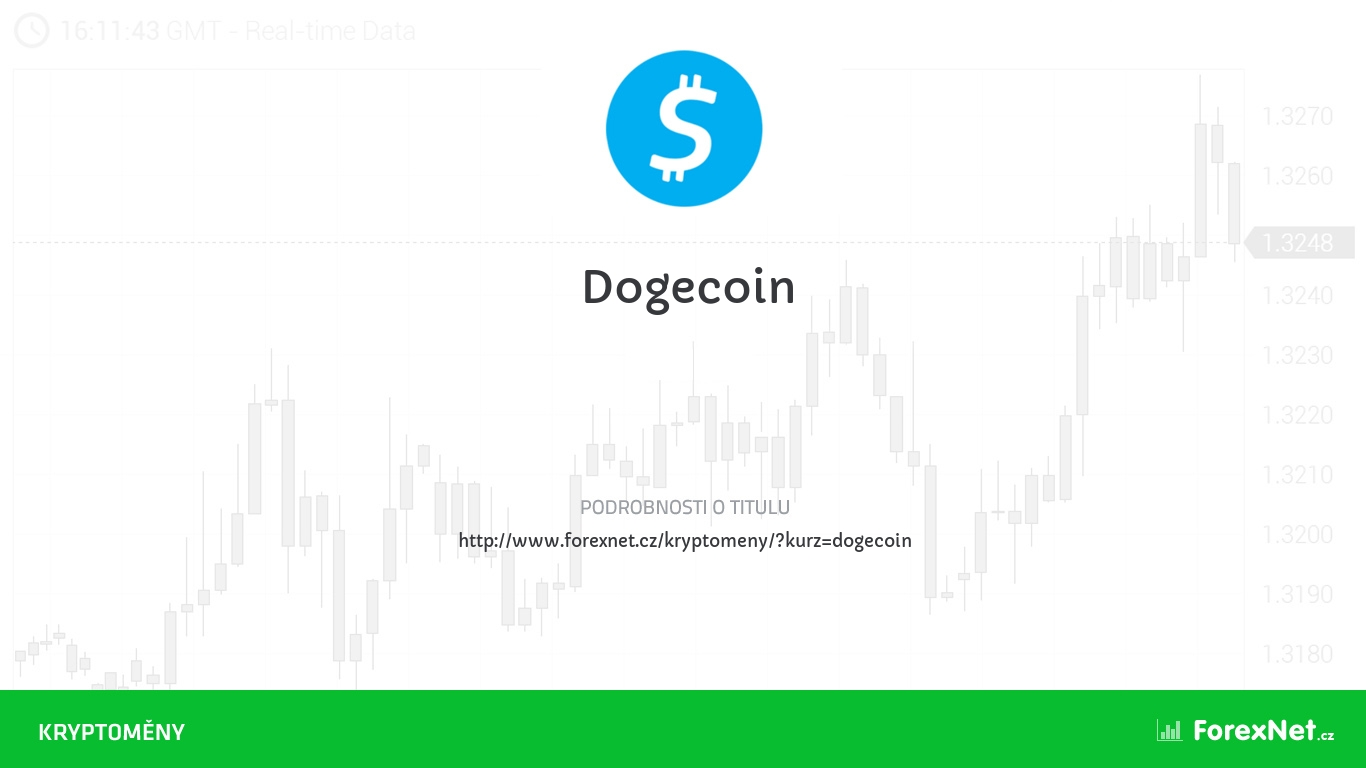 Kurz Dogecoin aktuálně, online, diskuze, vývoj, ceny, graf, doporučení