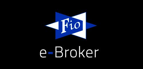 FIO e-Broker logo