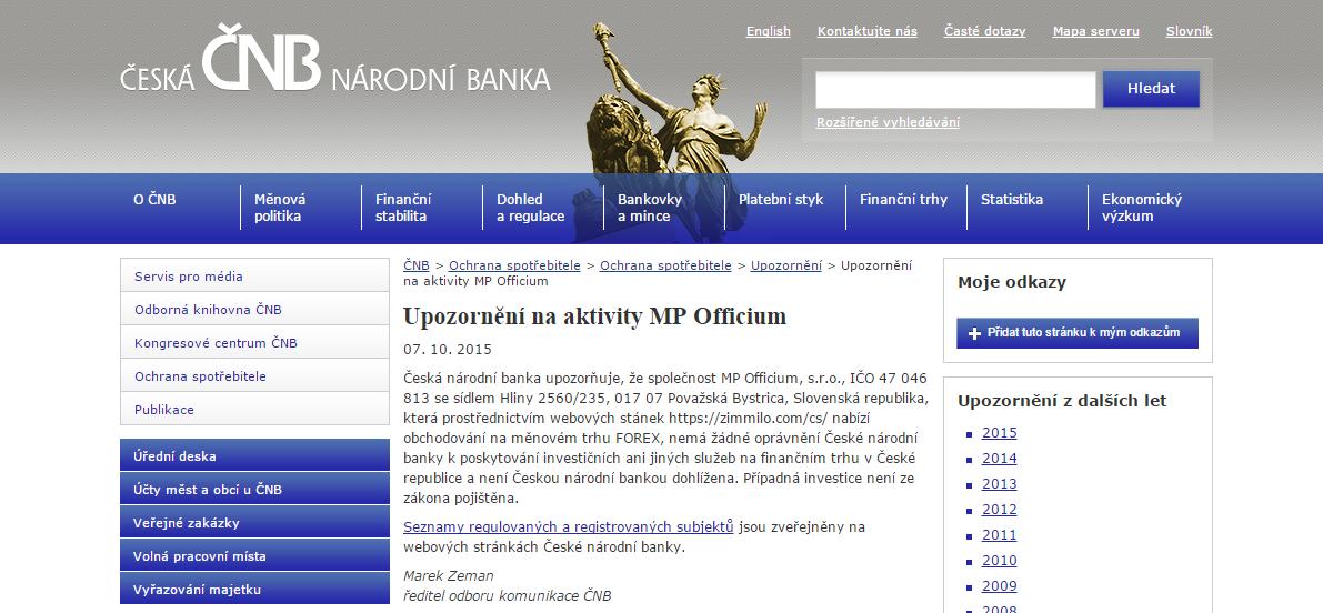 Forex brokeri na slovensku