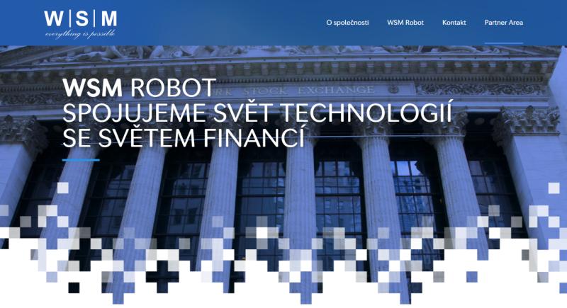 Webová stránka WSM