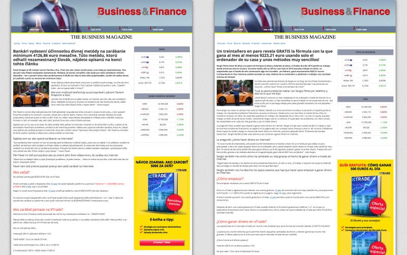 The Business Magazine naleznete také ve španělštině