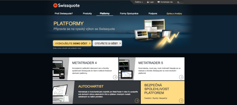 Platformy Swissquote